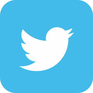 Autocollant Logo Réseau Social Twitter