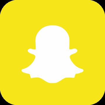 Autocollant Logo Réseau Social Snapchat
