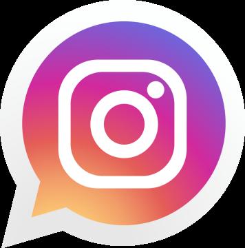 Autocollant Logo Réseau Social Instagram