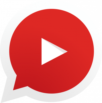 Autocollant Logo Réseau Social Youtube 2