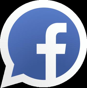 Autocollant Logo Réseau Social Facebook 2