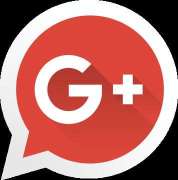 Autocollant Logo Réseau Social Google Plus