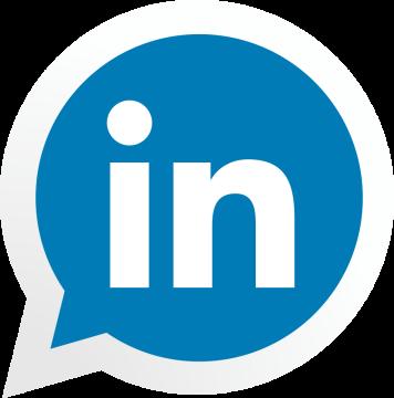 Autocollant Logo Réseau Social Linkedin