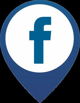 Autocollant Logo Réseau Social Facebook 3