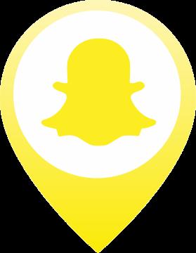 Autocollant Logo Réseau Social Snapchat 3