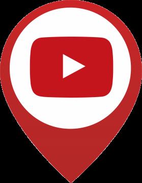 Autocollant Logo Réseau Social Youtube 3