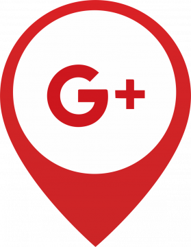 Autocollant Logo Réseau Social Google Plus 2