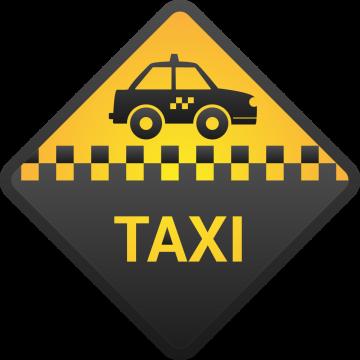 Autocollant Métier Taxi 3