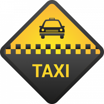 Autocollant Métier Taxi 4