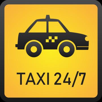 Autocollant Métier Taxi 7