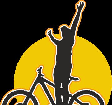 Autocollant Sport Vélo Trail 5