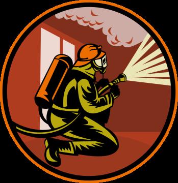 Autocollant Métier Pompier 4