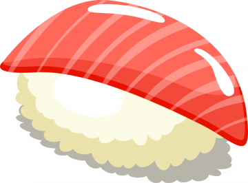 Autocollant Sushi 6