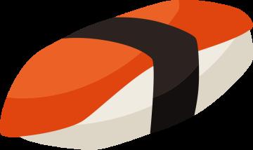 Autocollant Sushi 11