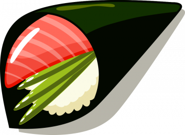 Autocollant Sushi 12