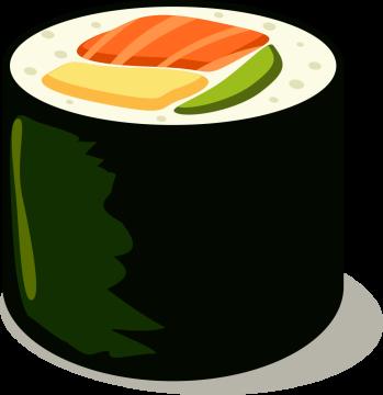 Autocollant Sushi 13
