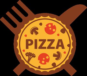 Autocollant Pizza Logo 2