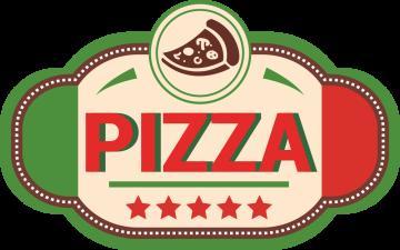 Autocollant Pizza Logo 4