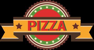 Autocollant Pizza Logo 5