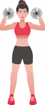 Autocollant Sport Musculation