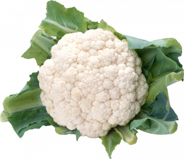 Autocollant Alimentation Légume Chou Fleur 6