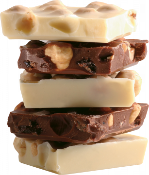 Autocollant Alimentation Chocolat 1