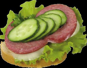 Autocollant Alimentation Sandwich 2