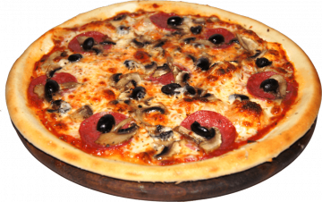 Autocollant Alimentation Pizza 2