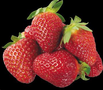 Autocollant Alimentation Fruit Fraises 1