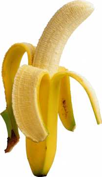 Autocollant Alimentation Fruit Banane 2
