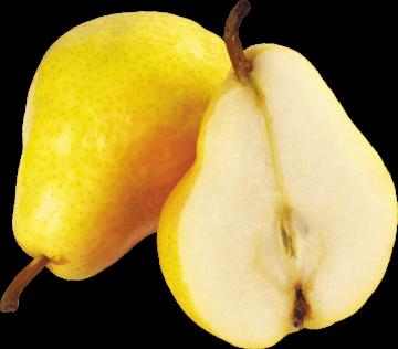 Autocollant Alimentation Fruit Poire