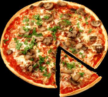 Autocollant Alimentation Pizza 3