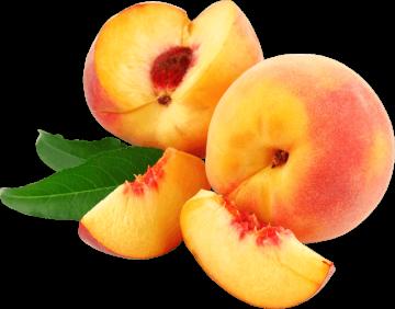 Autocollant Alimentation Fruit Pêche 2