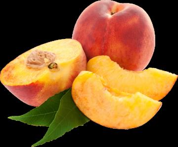 Autocollant Alimentation Fruit Pêche 3