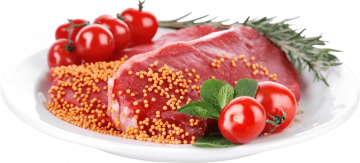 Autocollant Alimentation Boucherie Viande 9