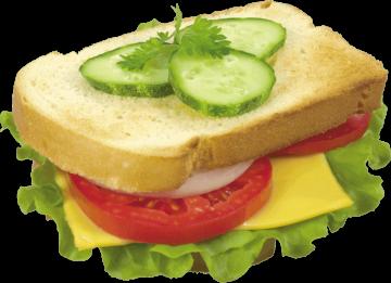 Autocollant Alimentation Sandwich 8