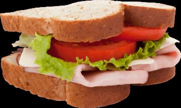 Autocollant Alimentation Sandwich 9