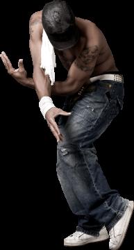 Autocollant Personne Danseur Hip Hop 4