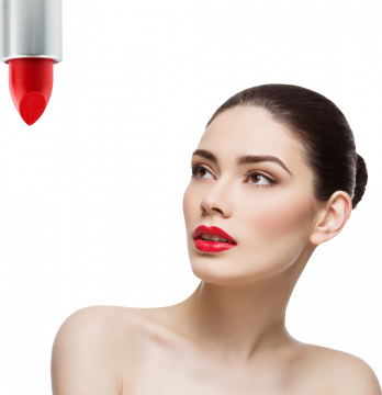 Autocollant Personne Femme Beauté Maquillage 1