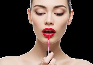 Autocollant Personne Femme Beauté Maquillage 11