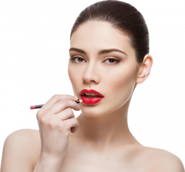 Autocollant Personne Femme Beauté Maquillage 12