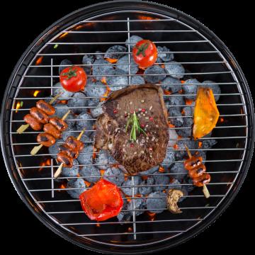 Autocollant Alimentation Barbecue 1
