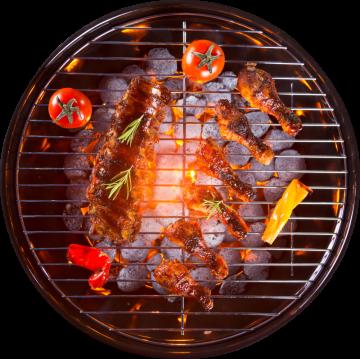 Autocollant Alimentation Barbecue 3