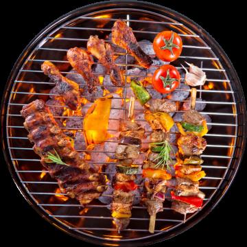 Autocollant Alimentation Barbecue 4
