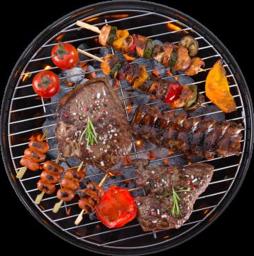 Autocollant Alimentation Barbecue 5