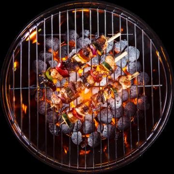 Autocollant Alimentation Barbecue 6