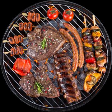 Autocollant Alimentation Barbecue 7
