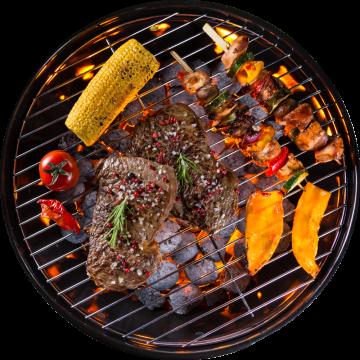 Autocollant Alimentation Barbecue 9