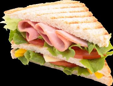 Autocollant Alimentation Sandwich 1 1