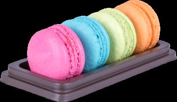 Autocollant Alimentation Gâteau Macaron 2